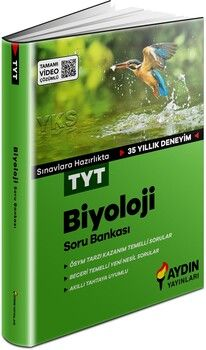 Aydın Yayınları TYT Biyoloji Soru Bankası