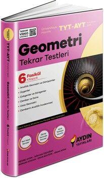 Aydın Yayınları TYT AYT Geometri Tekrar Testleri