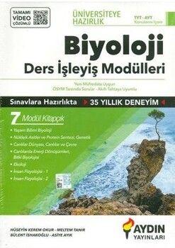 Aydın Yayınları TYT AYT Biyoloji Ders İşleyiş Modülleri