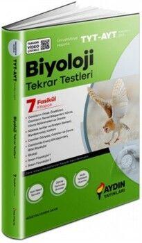 Aydın Yayınları TYT AYT Biyoloji Tekrar Testleri