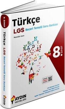 Aydın Yayınları8. Sınıf Türkçe Beceri Temelli Soru Bankası