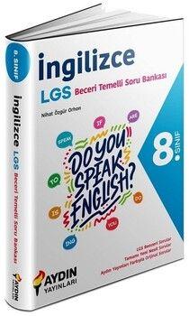 Aydın Yayınları 8. Sınıf LGS İngilizce Beceri Temelli Soru Bankası