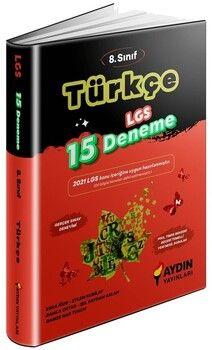 Aydın Yayınları 8. Sınıf LGS Türkçe 15 Deneme