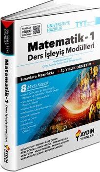 Aydın Yayınları TYT Matematik Üniversiteye Hazırlık Ders İşleyiş Modülleri 1. Kitap