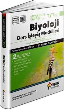 Aydın Yayınları TYT Biyoloji Üniversiteye Hazırlık Ders İşleyiş Modülleri