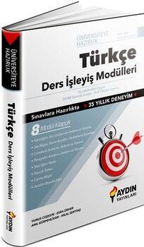 Aydın Yayınları TYT Türkçe Üniversiteye Hazırlık Ders İşleyiş Modülleri