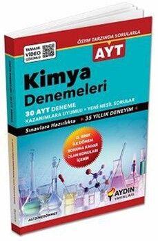 Aydın Yayınları AYT Kimya 30 Video Çözümlü Deneme