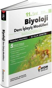 Aydın Yayınları 11. Sınıf Biyoloji Ders İşleyiş Modülleri