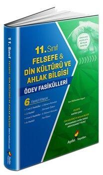 Aydın Yayınları 11. Sınıf Felsefe Din Kültürü ve Ahlak Bilgisi Ödev Fasikülleri