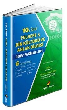 Aydın Yayınları 10. Sınıf Felsefe Din Kültürü ve Ahlak Bilgisi Ödev Fasikülleri