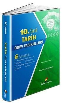 Aydın Yayınları 10. Sınıf Tarih Ödev Fasikülleri