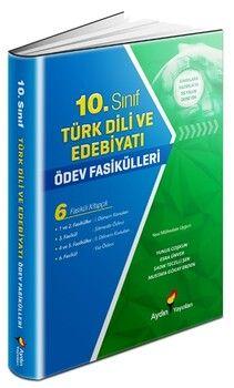 Aydın Yayınları 10. Sınıf Türk Dili ve Edebiyatı Ödev Fasikülleri