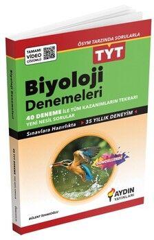 Aydın Yayınları TYT Biyoloji 40 Deneme