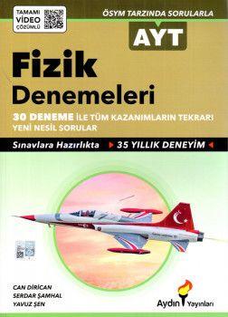 Aydın Yayınları AYT Fizik 30 lu Denemeleri