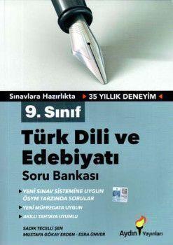 Aydın Yayınları 9. Sınıf Türk Dili ve Edebiyatı Soru Bankası