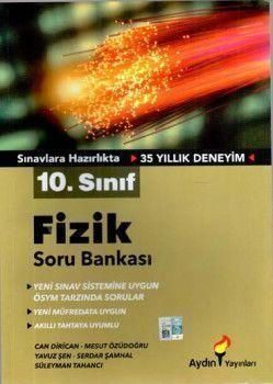 Aydın Yayınları 10. Sınıf Fizik Soru Bankası