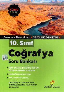 Aydın Yayınları 10. Sınıf Coğrafya Soru Bankası