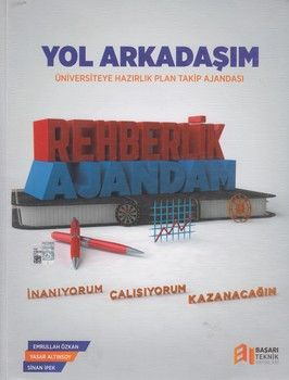 Başarı Teknik Yayınları Yol Arkadaşım Üniversiteye Hazırlık Plan Takip Ajandası