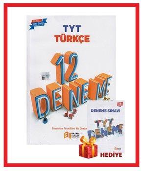 Başarı Teknik Yayınları TYT Türkçe 12 Deneme Hediyeli