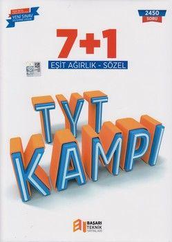 Başarı Teknik Yayınları TYT Eşit Ağırlık Sözel 7 + 1 Kampı