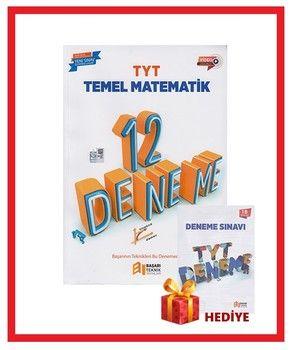 Başarı Teknik Yayınları TYT Temel Matematik 12 Deneme Hediyeli