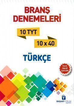 Başarıyorum Yayınları TYT Türkçe Branş Denemeleri