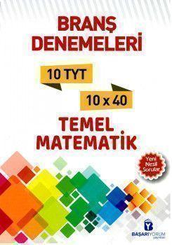 Başarıyorum Yayınları TYT Temel Matematik 10 lu Denemeleri
