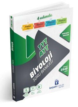 Başarıyorum Yayınları TYT AYT Biyoloji 4 Adımda Soru Bankası