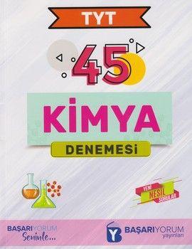 Başarıyorum Yayınları TYT Kimya 45 Denemesi