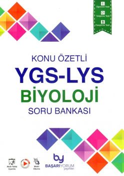 Başarıyorum Yayınları YGS LYS Biyoloji Konu Özetli Soru Bankası