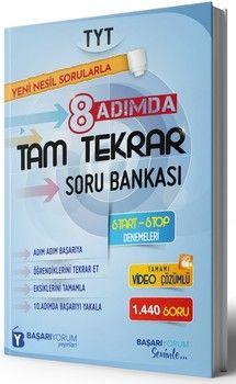 Başarıyorum Yayınları TYT 8 Adımda Tam Tekrar Soru Bankası