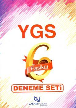 Başarıyorum Yayınları YGS 6 Fasikül Deneme Seti