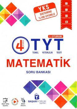 Başarıyorum Yayınları YKS 1. Oturum TYT Türkçe Matematik Soru Bankası Seti