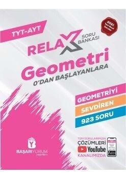 Başarıyorum Yayınları TYT AYT Relax Geometri Soru Bankası 0 dan Başlayanlara