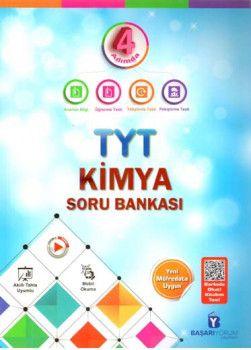 Başarıyorum Yayınları TYT  4 Adımda Kimya Soru Bankası