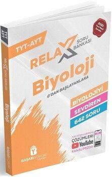 Başarıyorum Yayınları TYT AYT Biyoloji Relax Soru Bankası