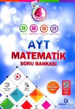 Başarıyorum Yayınları AYT Matematik 4 Adımda Soru Bankası
