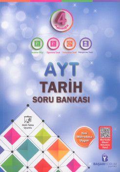 Başarıyorum Yayınları AYT Tarih 4 Adımda Soru Bankası