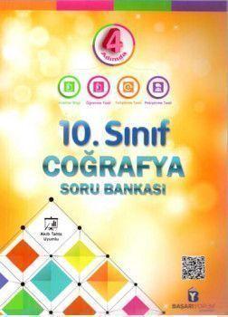 Başarıyorum Yayınları 10. Sınıf 4 Adımda Coğrafya Soru Bankası