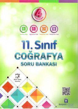 Başarıyorum Yayınları 11. Sınıf 4 Adımda Coğrafya Soru Bankası