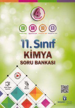 Başarıyorum Yayınları 11. Sınıf 4 Adımda Kimya Soru Bankası