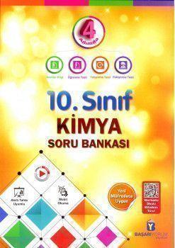 Başarıyorum Yayınları 10. Sınıf Kimya 4 Adımda Soru Bankası