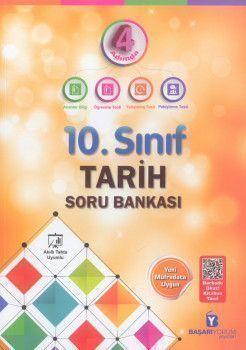 Başarıyorum Yayınları 10. Sınıf Tarih 4 Adımda Soru Bankası