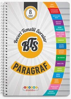 Başat Yayınları 8. Sınıf Paragraf BTS Deneme Dükkanı Soru Bankası