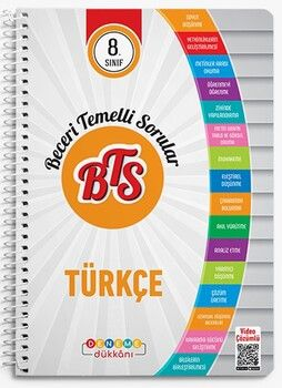 Başat Yayınları 8. Sınıf Türkçe BTS Deneme Dükkanı Soru Bankası