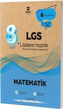 Başka Yayıncılık 8. Sınıf LGS Matematik 6 lı  Deneme