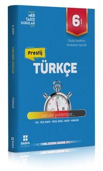 Başka Yayıncılık 6. Sınıf Türkçe Prestij Soru Bankası