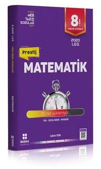 Başka Yayıncılık 8. Sınıf LGS Matematik Prestij Soru Bankası