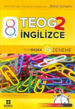 Başka Yayıncılık 8. Sınıf TEOG 2 İngilizce Bambaşka 15 Deneme