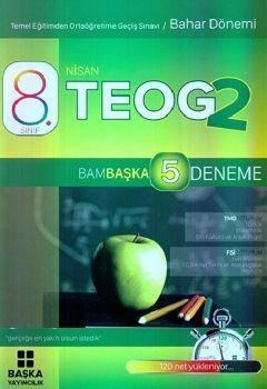 Başka Yayıncılık 8. Sınıf TEOG 2 Bambaşka 5 Deneme